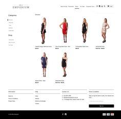 Miss Emporium - Women's online clothing store - Shopify Expert Sophia Dress, Women Clothing Stores Online, News Online, Store Design, Dress Backs, Shopping, Collection, Design Shop