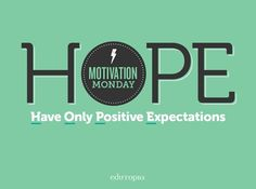 How will you stay positive this week?  #MotivationMonday