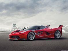 2015 Ferrari FXX K Front - http://car-pictures.info/2015-ferrari-fxx-k-front/