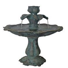 Allen Roth Traditional 2 Tier Indoor Outdoor Fountain 400 x 300