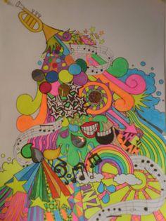 Highlighter art!
