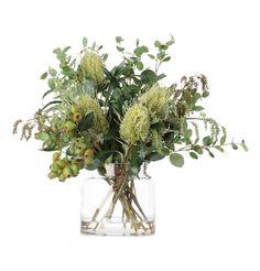 Australian Native Flowers in Vase - Matt Blatt