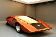 Lancia Stratos Zero HF Prototype  Designed by Bertone in 1970