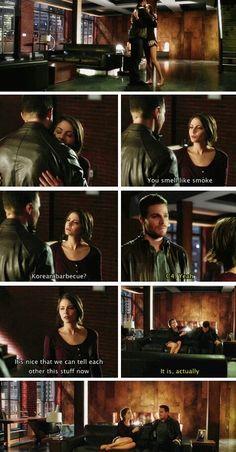 Arrow - Oliver & Thea #3.13 #Season3 #Canaries