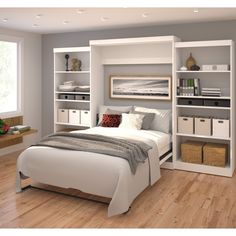 Pur by Bestar Queen Wall bed kit