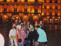 Grupo 2005 na Plaza Mayor de Salamanca