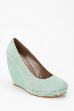 Bridesmaid shoes?   Urban Outfitters - Cooperative Suede Platform Wedge