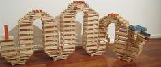 Jeu en bois et ecologique jeu de construction enfant | KAPLA