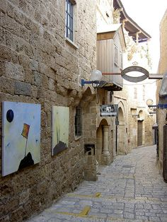 To do: find inspiration on your daily walk. Street Art Exhibit . Jaffa Israel