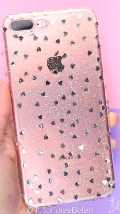 Easy Crafts To Make, Diy Crafts Hacks, Diy Craft Projects, Crafts For Kids, Diy Resin Phone Case, Nail Logo, Resin Jewelry Making, Diy Case, Cute Phone Cases