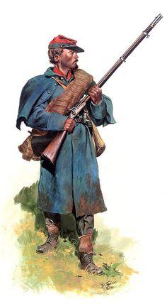 Crutchfield's Virginia Heavy Artillery Battalion, 1865 by artist Don Troiani.