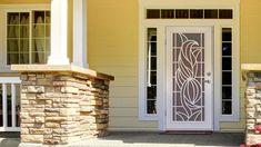 Beautiful Unique Home Designs Security Doors