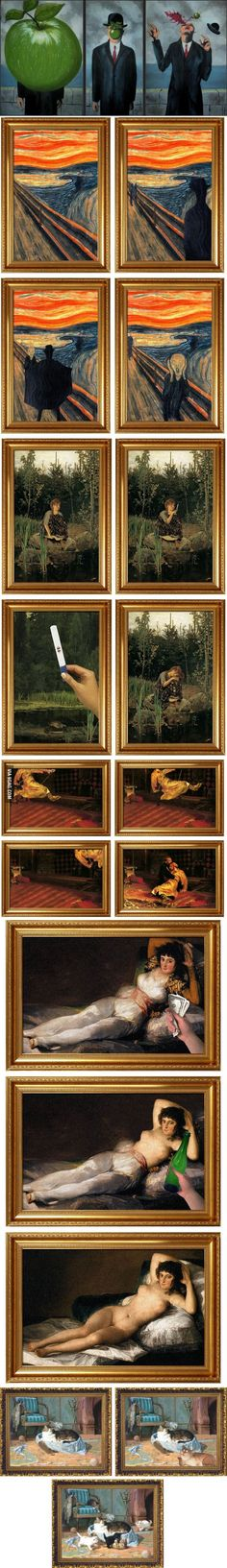 The stories behind some famous paintings..