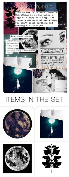 """""""When You Can't Sleep at Night: Insomnia"""" by isthelastofus ❤ liked on Polyvore featuring art"""