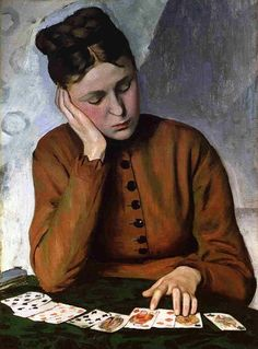 The Fortune Teller (1869) by Frédéric Bazille