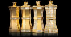 Chess gold and diamond collection Limited Edition