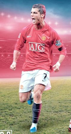 Best Football Team, Football Players, Go Red, Football Wallpaper, Cristiano Ronaldo, Manchester United, First Love, Champion, The Unit