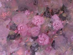 Color Me Chocolate Roses & Wildberrys. watercolor - tempera & gouache painting - Gicicles for sale