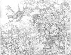 "Gianluca Pagliarani -""Wolfskin- hundredth dream"" Avatar Press #comics #blasteroidbros #fantasy #scifi"