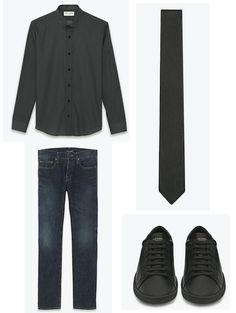 Saint Laurent for Men #fashion #men #saintlaurent