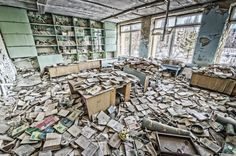 University of Prypiat, Chernobyl,