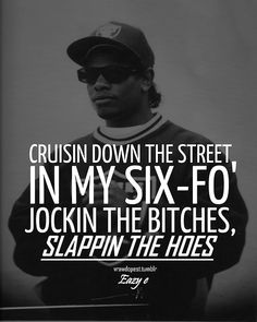 Eazy-E! Why the Raiders hat?