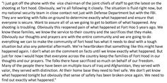 "Twitter / ""MashableLive: Here's President Obama's full statement on the #FortHood Shooting""  4/2/14  #FortHoodShooting"