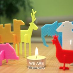 3D Simple animals, Eunny Download on https://cults3d.com #3Dprinting
