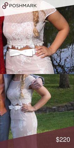 sherri hill prom dress 2 piece sherri hill size 4 Sherri Hill Dresses Prom