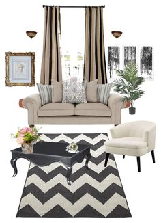 """Untitled #37"" by joniprivettjp on Polyvore featuring interior, interiors, interior design, home, home decor, interior decorating, EFF, National Tree Company and Nearly Natural"
