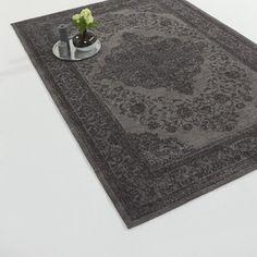 Vloerkleed Abadan antraciet 160x240 cm | Vloerkleden | Woonaccessoires | Meubelen | KARWEI