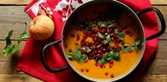 Zupa imbirowa z dyni i jabłek - FACET I KUCHNIA