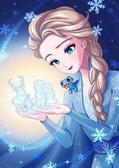 Frozen Film, Frozen Art, Frozen And Tangled, Disney Princess Frozen, Disney Princess Drawings, Elsa Frozen, Disney Drawings, Cartoon Drawings, Arte Disney