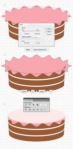 How to Create a Detailed Cake Illustration | Vectortuts+