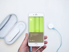 CliniCloud ~ The connected medical kit contains two important tools that connect to your smartphone to record and manage your family's health. A non contact thermometer that accurately records temperature and digital stethoscope to record heart and lung sounds. Available for pre-order launching July 2015