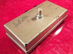 Vintage Rare 1968 Schaller Fuzz Face Guitar Effect Pedal Distortion TOP