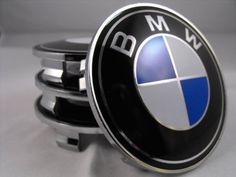 BMW D.O.L® blau weiß 68mm Nabendeckel & Felgendeckel & Nabenkappen embleme (satz von 4)