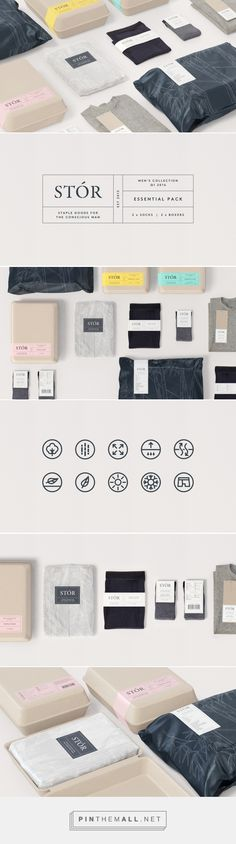 Packaging and branding for STÓR by SocioDesign — Design + Digital curated by Packaging Diva PD. Men's collection for the conscious man.