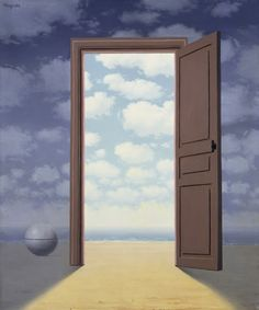"René Magritte: ""La mejora"", 1962.More Pins Like This At FOSTERGINGER @ Pinterest"