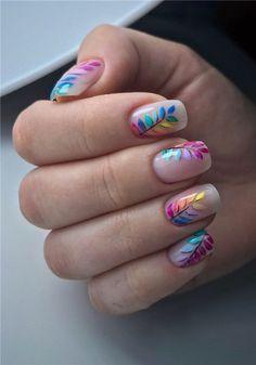 Trendy Nails, Cute Nails, Hair And Nails, My Nails, Short Nails Art, Manicure E Pedicure, Short Nail Manicure, Summer Nails, Cute Spring Nails
