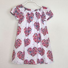Gathered Dress Peasant Toddler Dress Sweet by OrangeBlossomKids, $26.00