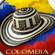 Typical hand made hat from Colombia caribbean coast. Colombian Culture, Colombian Art, Bolivia, Colombia South America, Colombia Travel, Colombia Map, Recipes, Food, Places