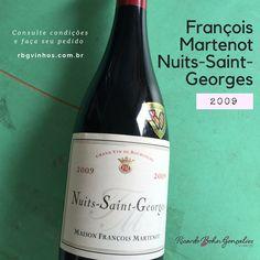 É conhecida minha preferência pela uva Pinot Noir e, como consequência, pelos #vinhos da Borgonha. E hoje fico contente de poder oferecer algumas poucas garrafas do Nuits-Saint-Georges 2009 da Maison François Martenot, um pequeno domaine criado em 1859, com um belo desconto sobre o preço da importadora.  Você pode comprá-lo em condições muito especiais ou conhecer outras opções de nossa adega: www.rbgvinhos.com.br