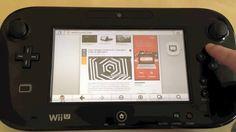 Te mostramos como se navega desde el mando de la Wii U