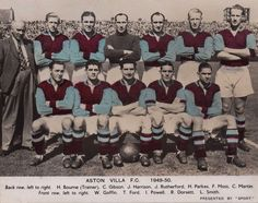 Aston Villa team group in Aston Villa Team, Laws Of The Game, Association Football, Most Popular Sports, Back Row, 1940s, England, Group, History