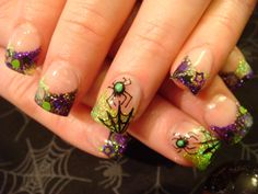Image detail for -HALLOWEEN Young nails acrylic   Nails Acrylic