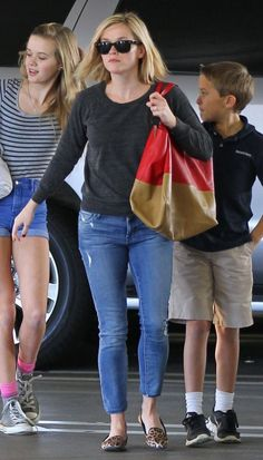 singapore fake bags - Reese Witherspoon wearing Isabel Marant Etoile Kady Leather Jacket ...