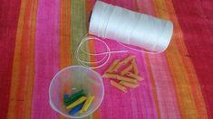 Migliorare la motricità fine con la pasta. 4 attività da fare coi bimbi - Centrifugato di Mamma Fall Crafts For Kids, Kids Crafts, Pasta, Pasta Recipes