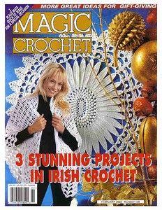 Magic Crochet--February 2002 #136
