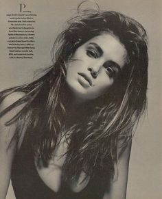 "the-original-supermodels: ""Cindy Crawford by Patrick Demarchelier (1988) """
